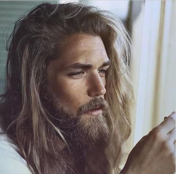 Зачем мужчинам блинные волосы и борода, Какие способности дают длинные волосы мужчинам,