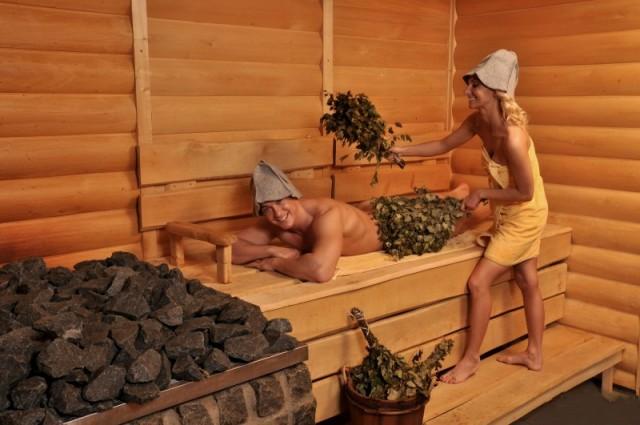 """Смывайте """"чёрную полосу""""  жизни в русской бане!"""