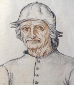 Иероним Босх карандашный набросок