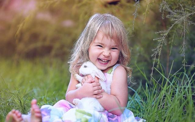 Счастливый ребенок.