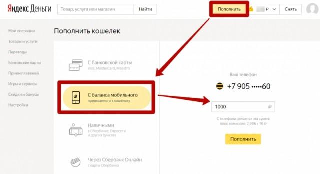 kak-perevesti-dengi-na-yandeks-schet-koshelek-s-karty-sberbanka-kivi-qiwi-mobilnogo-onlayn-bilayna-tele2-megafon